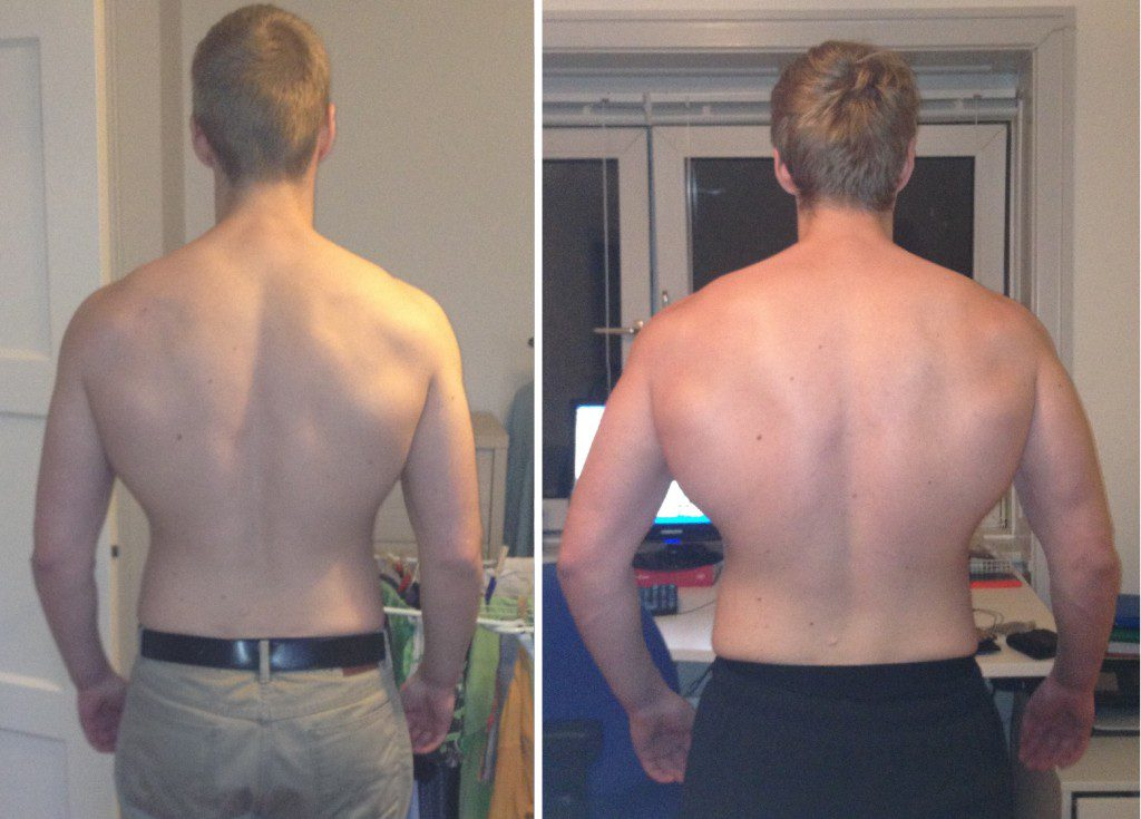 overtraining back progress
