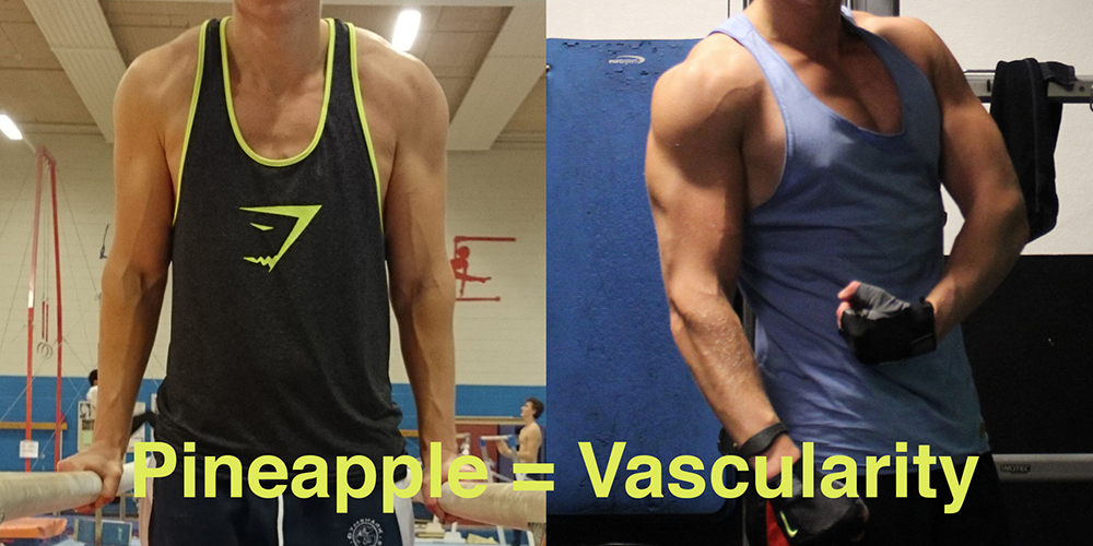 pineapple vascularity